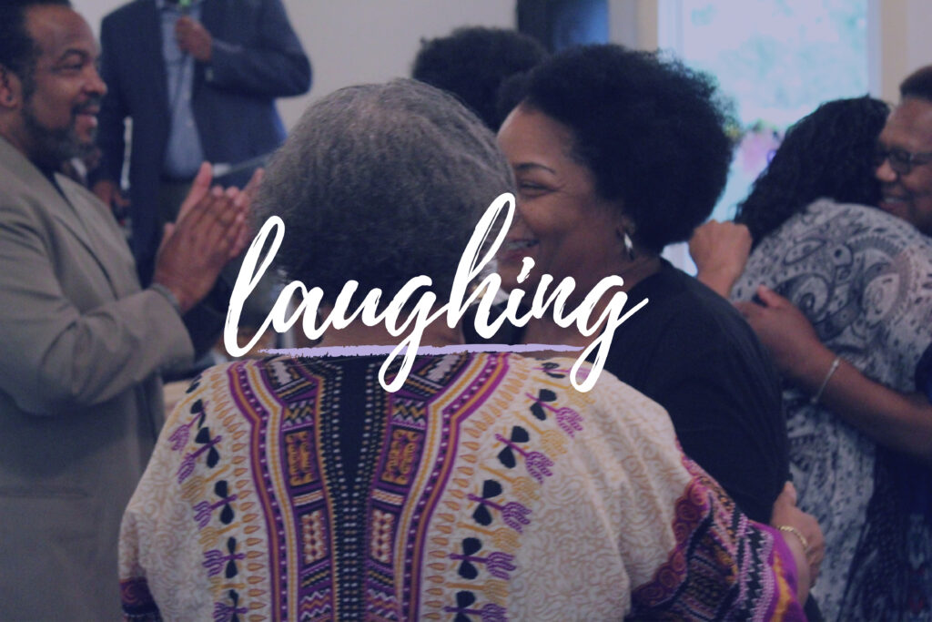Laughing at Covenant Worship Center1
